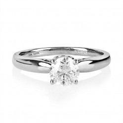 18ct White Gold Single Stone 1.00ct Diamond Ring SKR17230-100