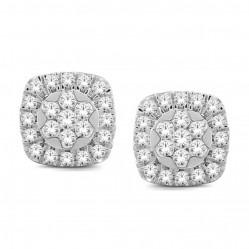 9ct White Gold 1.00ct Diamond Stud Earrings SKE18926-100