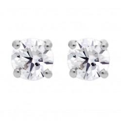 18ct White Gold 0.50ct Diamond Stud Earrings SKE2534-50 18KW