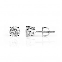 18ct White Gold 1.00ct Diamond Stud Earrings SKE2534-100W