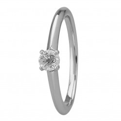 Mastercut Simplicity Four Claw Platinum 0.30ct Solitaire Diamond Ring C5RG001 030P