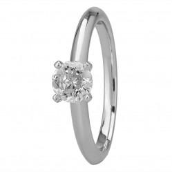 Mastercut Simplicity Four Claw Platinum 0.50ct Solitaire Diamond Ring C5RG001 050P