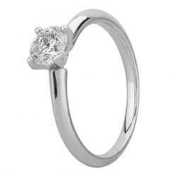 Mastercut Simplicity Four Claw Platinum 0.75ct Solitaire Diamond Ring C5RG001 075P