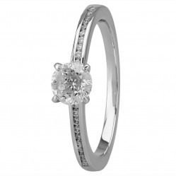 Mastercut Simplicity Four Claw Platinum 0.53ct Diamond Solitaire Ring C5RG007 050P M13300