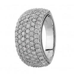 9ct White Gold 2.00ct Diamond Pave Ring SKR2910-200 9K