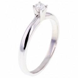 Arctic Circle Diamonds 18ct White Gold 0.15ct Diamond Solitaire Ring UKR1081215