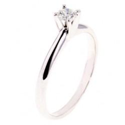 Arctic Circle Diamonds 18ct White Gold 0.25ct Diamond Solitaire Ring UKR1081325