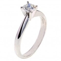Arctic Circle Diamonds 18ct White Gold 0.50ct Diamond Solitaire Ring UKR1081350