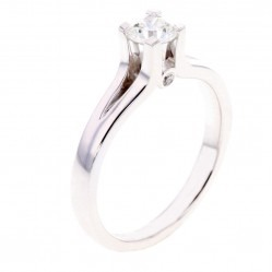 Arctic Circle Diamonds 18ct White Gold 0.40ct Diamond Ring UKR1081540