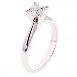 Arctic Circle Diamonds 18ct White Gold 1.00ct Diamond Solitaire Ring UKR10813100