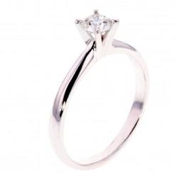 Arctic Circle Diamonds 18ct White Gold 0.40ct Diamond Solitaire Ring UKR1081340