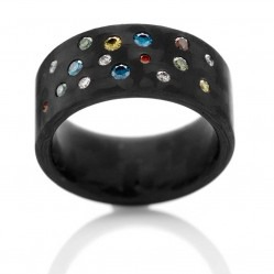C6 by Anne Cohen Ladies Supernova 10mm Diamond Ring C6SO-10-40-56