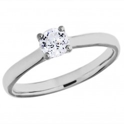 Mastercut Starlight 18ct White Gold 0.15ct Solitaire Diamond Ring C10RG001 015W
