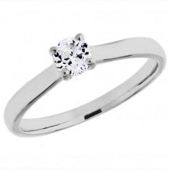 Mastercut Elegance 18ct White Gold 0.30ct Solitaire Diamond Ring C11RG001 030W