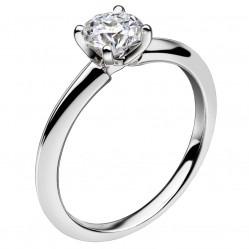 Mastercut Simplicity Four Claw Platinum 0.75ct Solitaire Diamond Ring C5RG001 075P