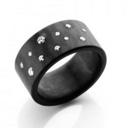 C6 by Anne Cohen Ladies Stardust 10mm Diamond Ring C6ST-10-26-55