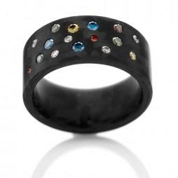 C6 by Anne Cohen Ladies Supernova 10mm Diamond Ring C6SO-10-40-56