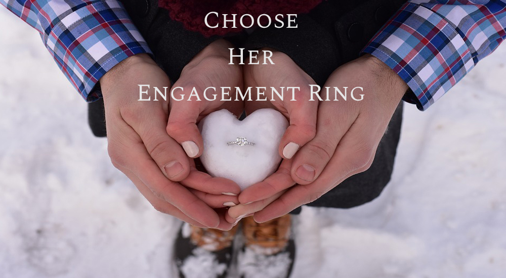 How To Choose Engagement Ring Without Her Knowing - Top Tips